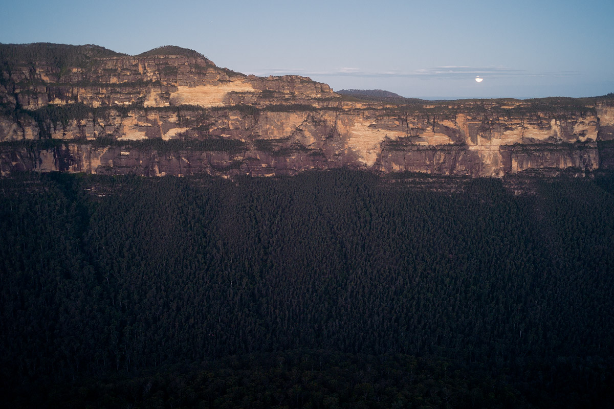 Moonrise, Blue Mountains