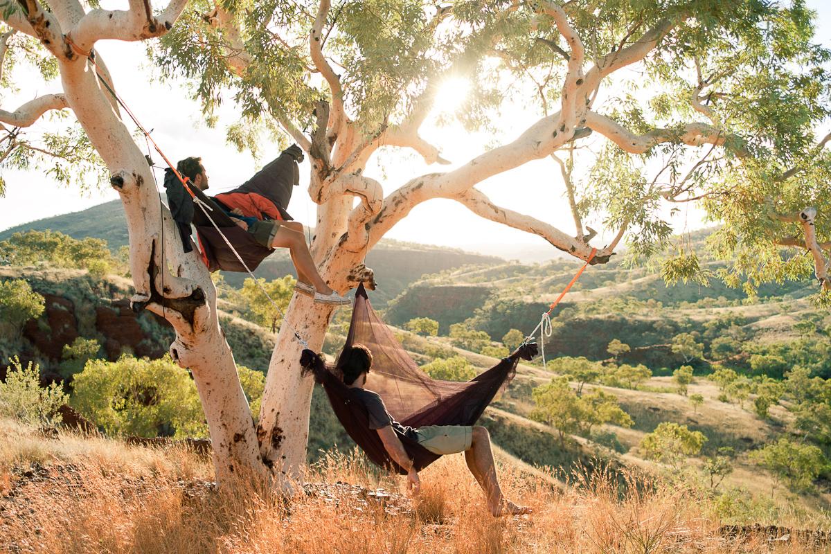 Tree camp, Pilbara